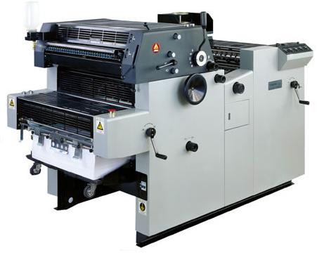 四色胶印机操作注意事项