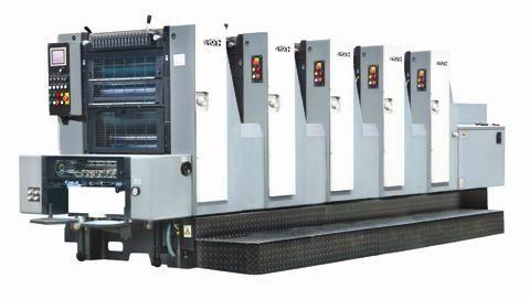 GH525六开五色商务印刷机