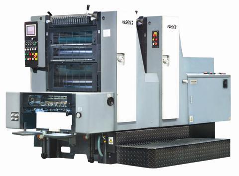 GH522六开双色胶印机
