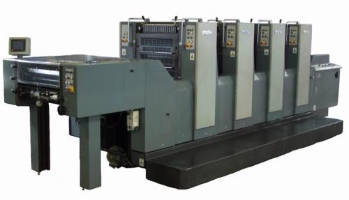 GH564四开四色胶印机