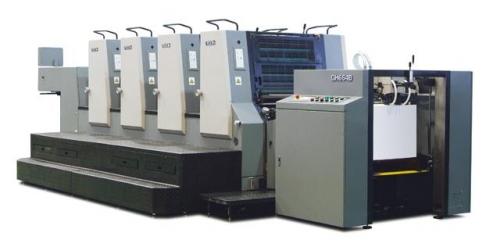GH664D四开四色胶印机