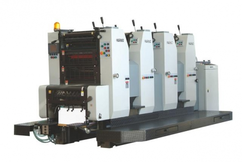 GH474大八开四色胶印机