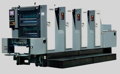 GH524六开四色胶印机