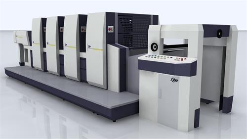 上海JD4660四开四色胶印机