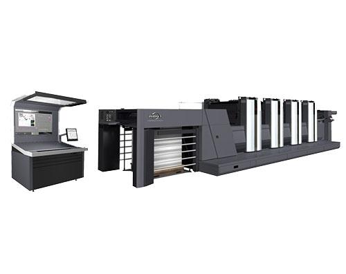 利优比920对开4色胶印机